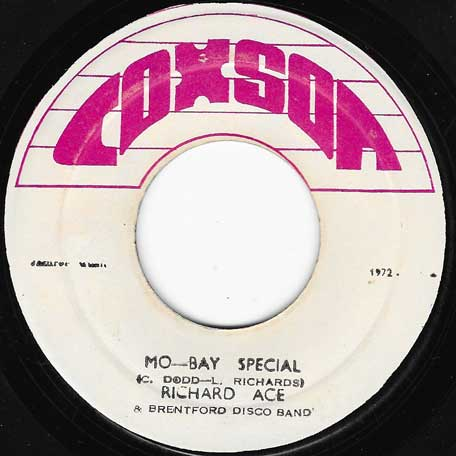 Mo Bay Special / Mo Bay Dub - Richard Ace And The Brentford Disco Band