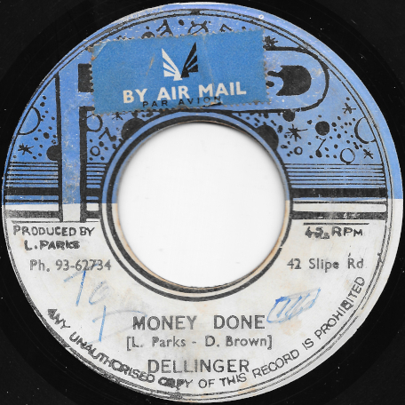 Money Done / Doney Ver - Dillinger / Lloyd Parks