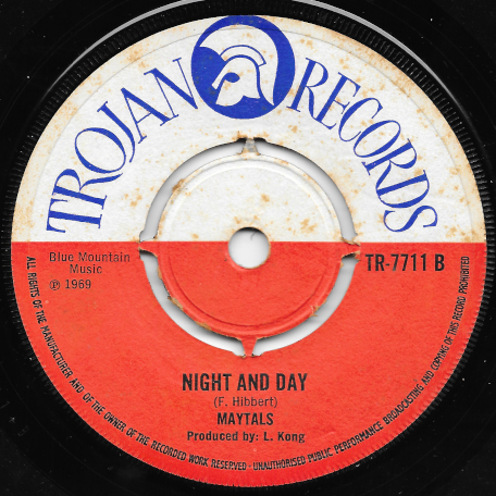 Monkey Man / Night And Day - The Maytals