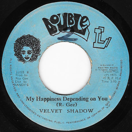 Winey Winey / My Happiness Depending On You - The Velvet Shadows