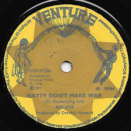 Natty Dont Make War / War Dubbing - Big Joe / Channel One Flyers