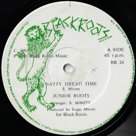 Natty Dread Time / Into The Light - Junior Roots / Black Trap