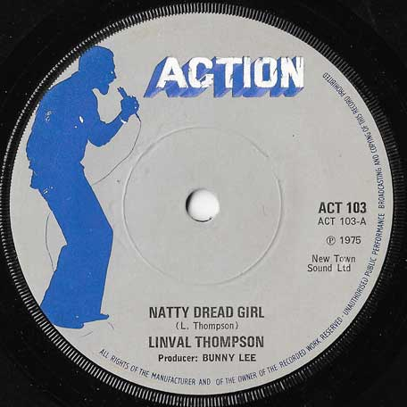 Natty Dread Girl / Ver - Linval Thompson / King Tubby