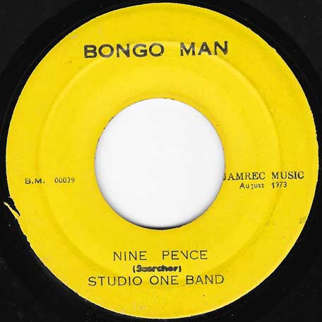 Six Pence / Nine Pence - Brentford All Stars / Studio One Band