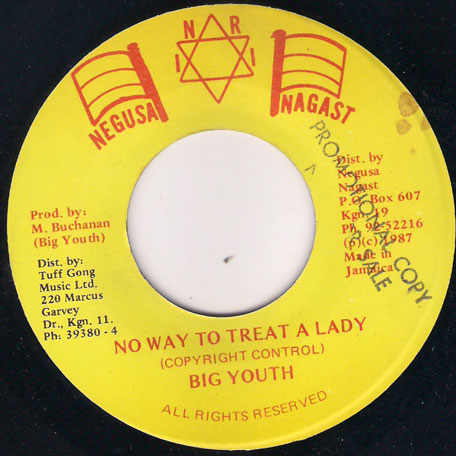 No Way To Treat A Lady - Big Youth