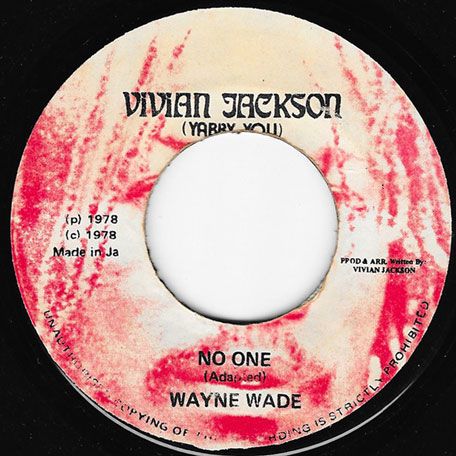 No One / No Two - Wayne Wade