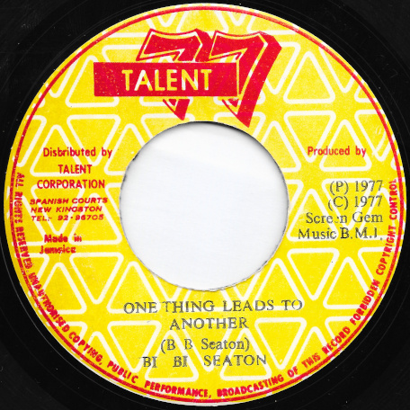 One Thing Leads To Another / Ver - BB Seaton