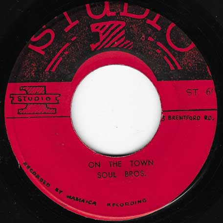 Do Good / On The Town - Freddie And Fitzy / The Soul Brothers