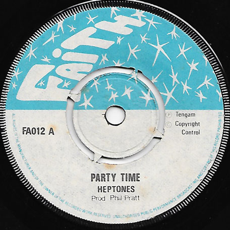 Party Time / Ver - The Heptones