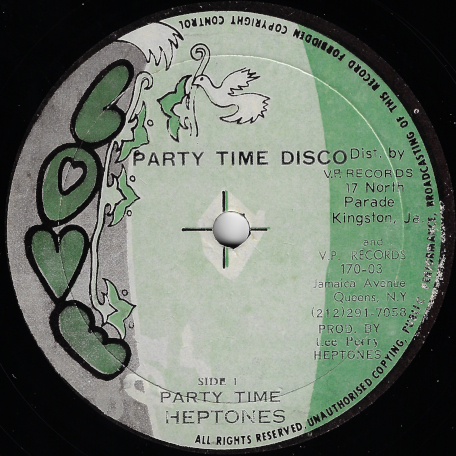 Party Time / Come On Into My World - The Heptones