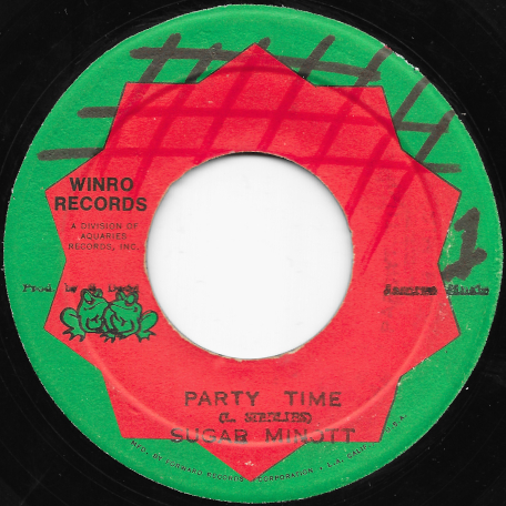 Party Time / Party Ver - Sugar Minott / Sugar And Sound Dimension