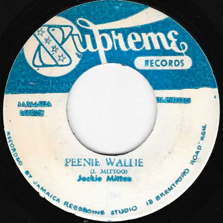Peenie Wallie / Cant Go On - Jackie Mittoo / Roy Richards
