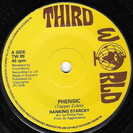 Phensic / Full Control - Ranking Starky / Jah Stitch