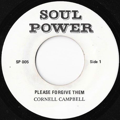 Please Forgive Them / Forgive Dub - Cornel Campbell