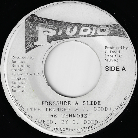 Pressure And Slide / Pressure And Sounds - The Tennors / Soul Vendors