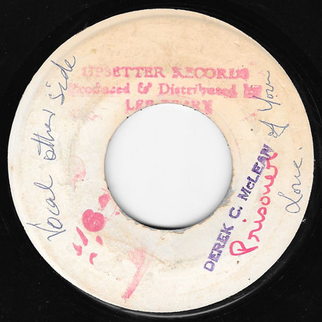 Prisoner Of Love / Soul Juice (Ver) - Dave Barker and The Upsetters