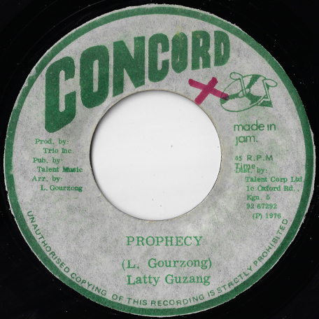 Prophecy / Dub With The Prophet - Latty Guzang