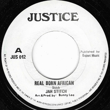 Real Born African / African Love Deal - Jah Stitch / Jackie Mittoo and The Agrovators