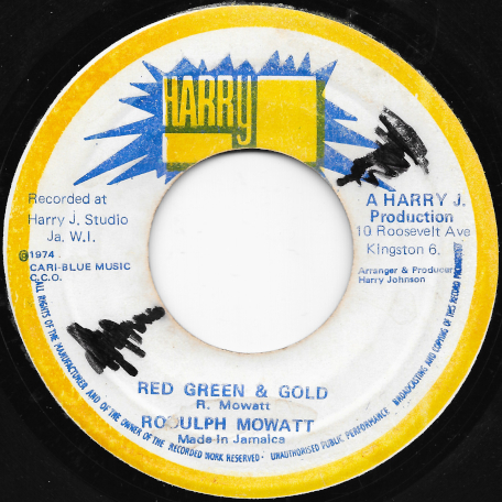 Red Green And Gold / Red Green Dub - Rudolph Mowatt