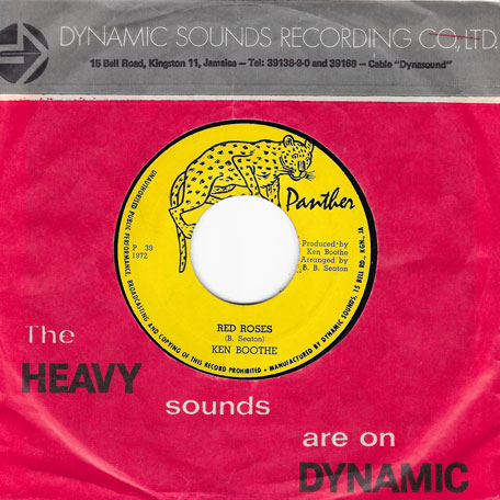 Red Rose / Red Dub - The Gaylads / The Soul Vendors