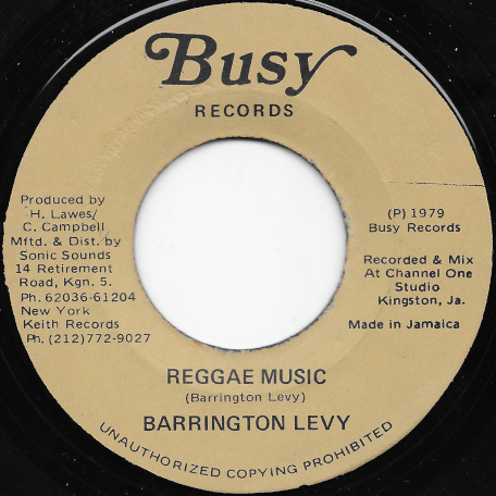 Reggae Music / Ver - Barrington Levy