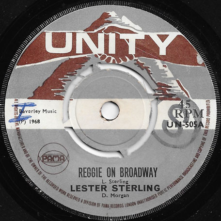 Reggae On Broadway / Love Can Be Wonderful - Lester Sterling / The Clique