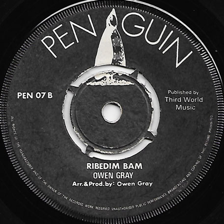 Ribedim Bam / I Think Of You - Owen Gray