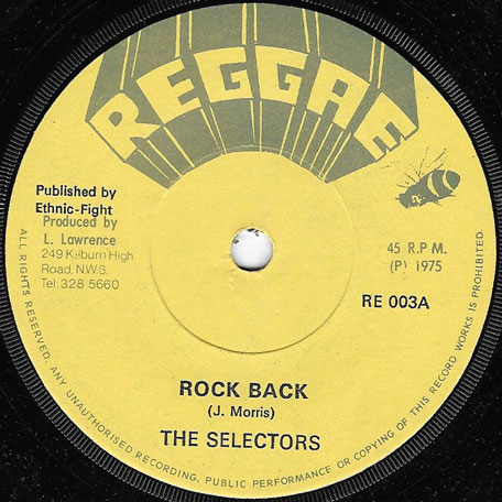 Rock Back / Higher And Higher - The Selectors