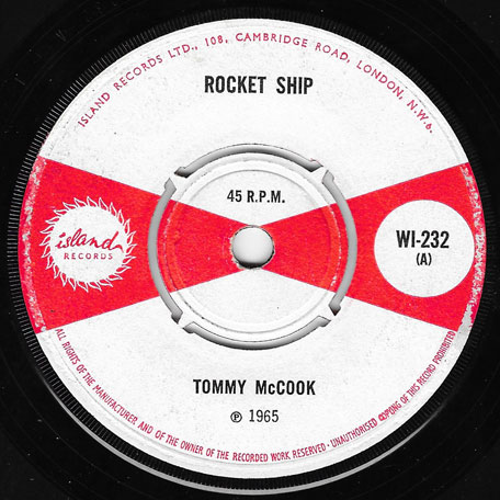 Rocket Ship / Turn Them Back - Tommy McCook And Baba Brooks / Justin Hinds And The Dominoes