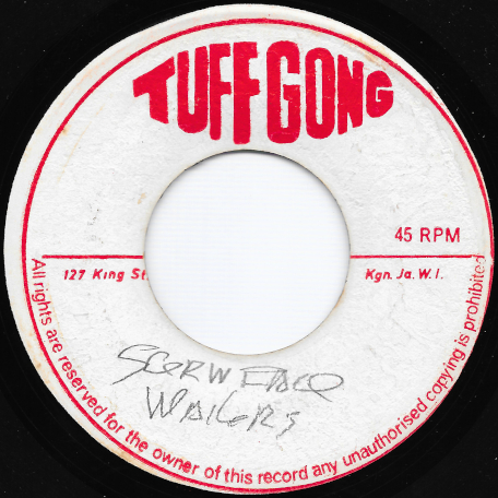 Screw Face / Faceman Ver - Bob Marley And The Wailers / The Wailers