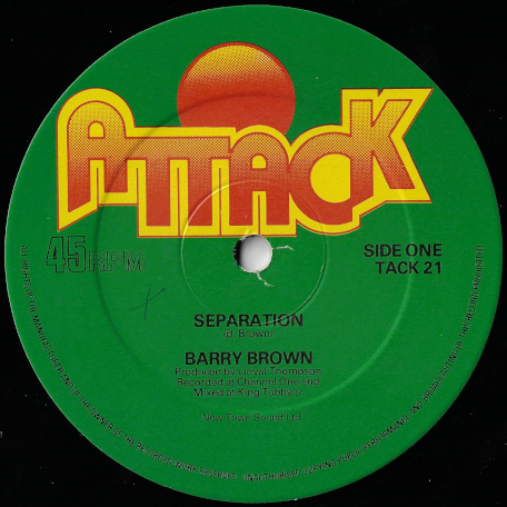 Separation / Scientist In Fine Style - Barry Brown / Roots Radics