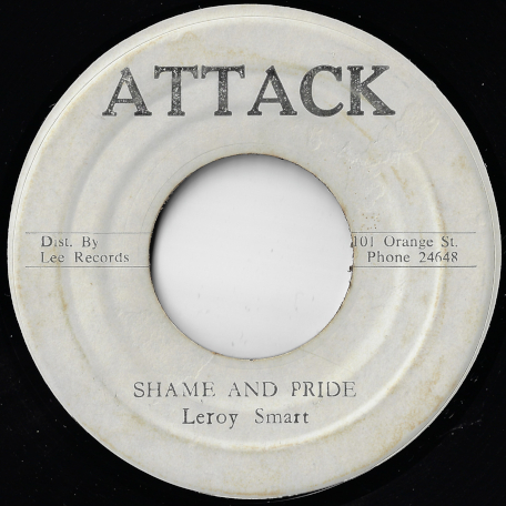 Shame And Pride / Channel One Under Heavy Manners - Leroy Smart / King Tubby