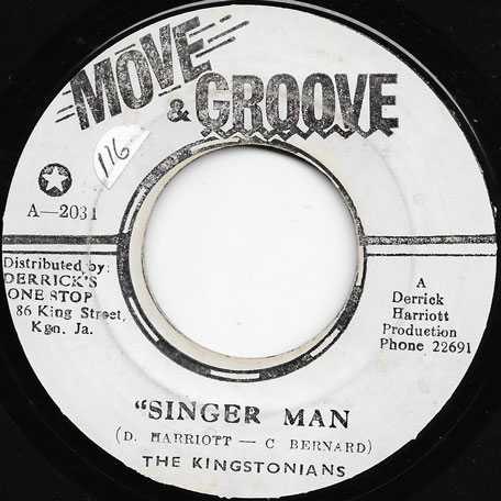 Singer Man / Part 2 - The Kingstonians / The Crystalites