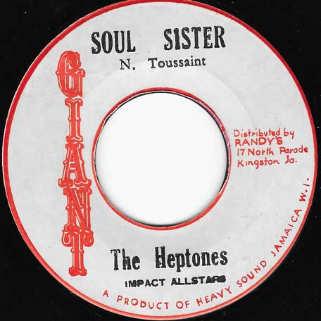 Soul Sister / Ver - The Heptones