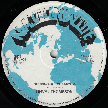 Stepping Out Of Babylon / Mind Babylon - Linval Thompson