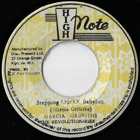 Stepping Out Of Babylon / Stepping Dub - Marcia Griffiths / The Revolutionaries