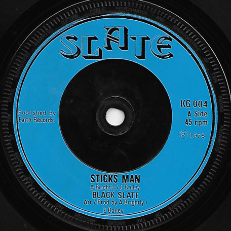 Sticks Man / Robber Man In Dub - Black Slate