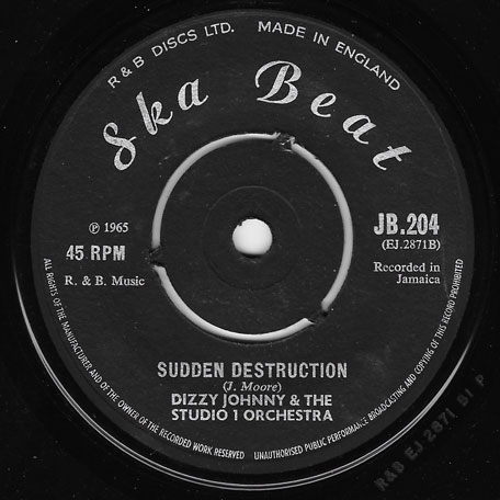 Opportunity / Sudden Destruction - The Soulettes / Dizzy Moore And The Studio 1 Orchestra