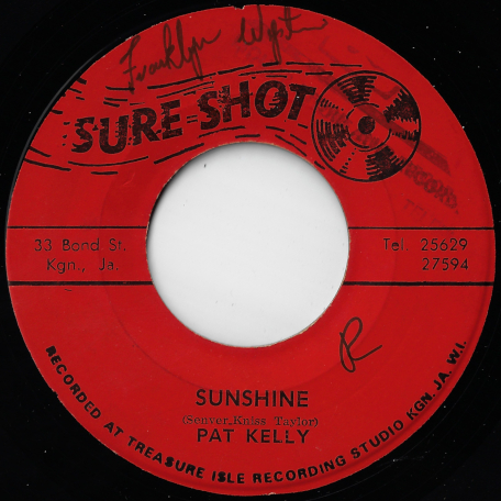 Sunshine / Ver - Pat Kelly