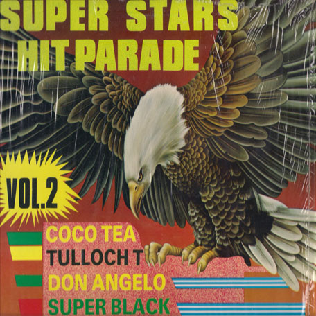Super Stars Hit Parade Vol 2 - Various..Super Black..Echo Minott..Johnny Osbourne