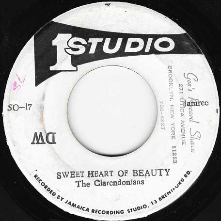 Sweet Heart Of Beauty / Shu Be Du Be - The Clarendonians