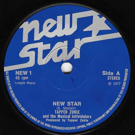 New Star / Living In The Ghetto - Tappa Zukie