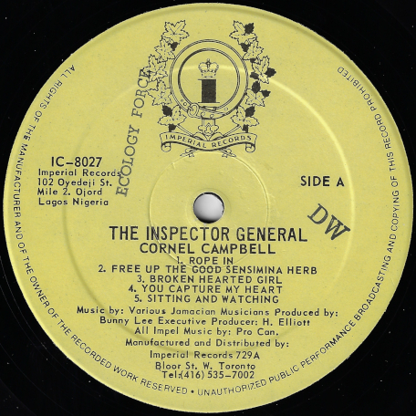 The Inspector General - Cornell Campbell