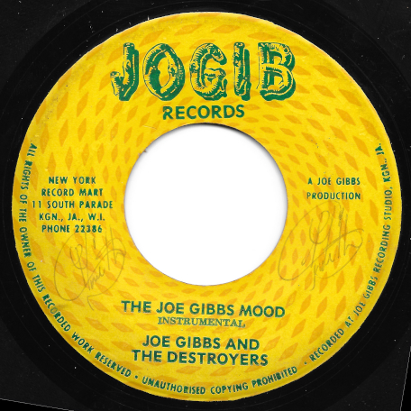The Joe Gibbs Mood / Only Yesterday - Joe Gibbs And The Destroyers / Ken Parker