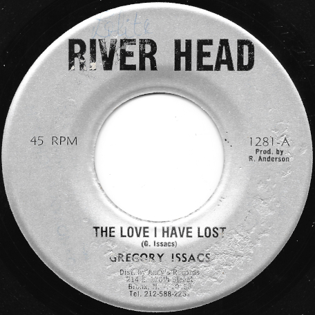 The Love I Have Lost / Lost Ver - Gregory Isaacs / Andys All Stars