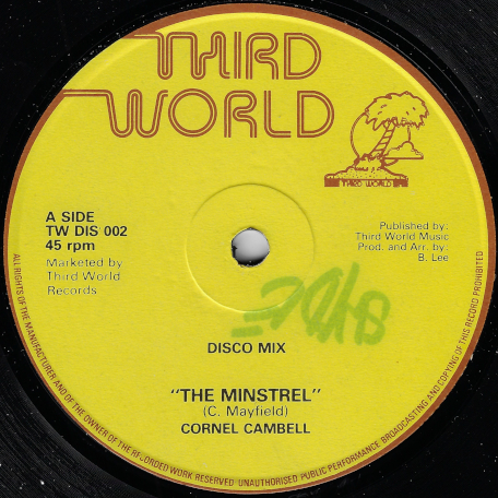 The Minstrel / Baby True - Cornel Campbell / Dillinger