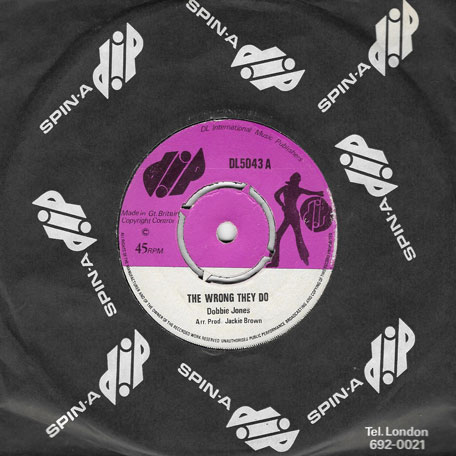 The Wrong They Do / The Wrong Dub - Dobbie Jones