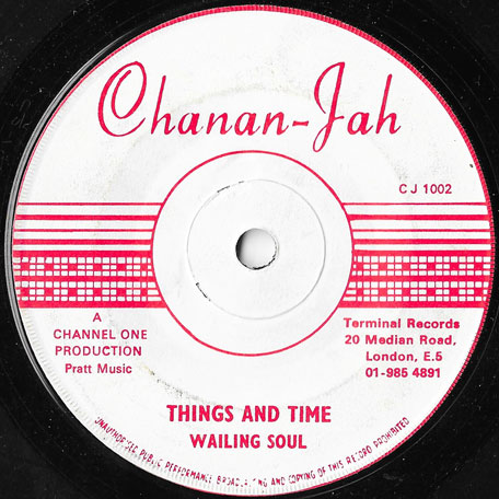 Things And Time / Ver - The Wailing Souls / The Revolutionaries