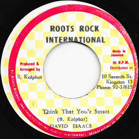 Think That Youre Smart / Ver - David Isaacs