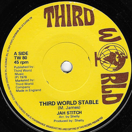 Third World Stable / Ver - Jah Stitch